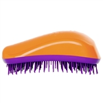 Dessata Detangling Hairbrush Orange and Purple