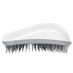 Dessata Detangling Hairbrush White and Silver