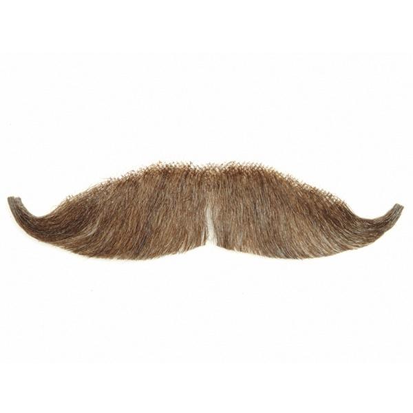 Fake Moustaches Handlebar Villiain Fake Moustache Human