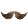 Fake Moustache Hercule Poirot Real Human Hair