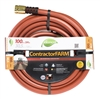 3/4-inch extra-long high-volume garden water hose for contractor and farm applications