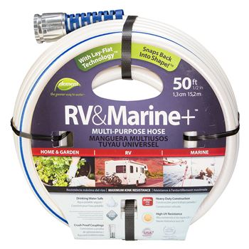"RV & Marine 50' 1/2"" Multi-Purpose Hose"