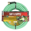 Heavy-duty 100-ft. 5/8-in. Swan Swan Soft & Supple garden water hose for large gardens and landscaping projects