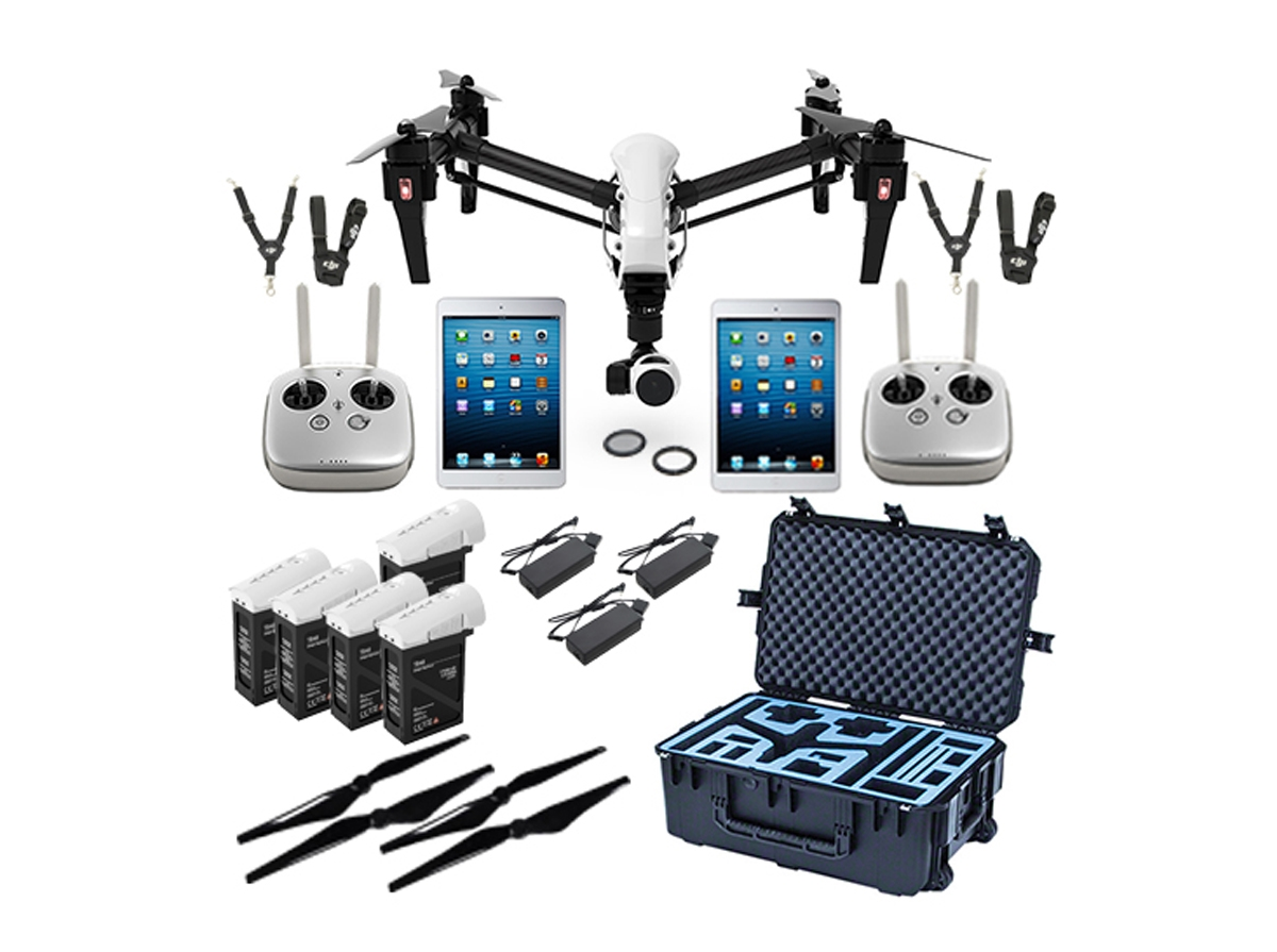 Dji Inspire 1 V2 0 Production Bundle Dual Operator