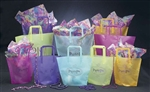Colored Trapezoid Bags