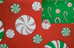 24x833 Christmas Candies Closeout Giftwrap