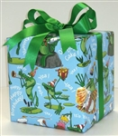 Birthday Frogs Giftwrap