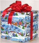 Santa's On The Way Giftwrap