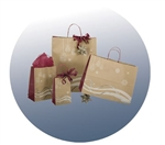 Holiday Breeze Paper Shopping Bags