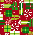 Peppermint Party Giftwrap