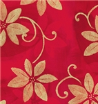 Poinsettia Shadows Giftwrap