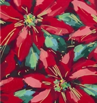 Festtive Poinsettias Giftwrap