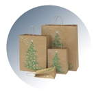 Magical Christmas Paper Shopping Bags