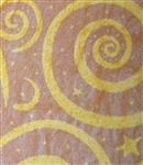 Gold Swirls Tissue