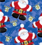 Jolly St. Nick Giftwrap