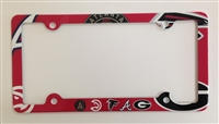 Atlanta sport teams License Plate Frame Decorative License Plate Holder