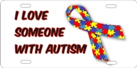 Autism Awareness novelty license plate