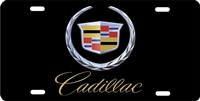 Cadillac Custom License Plates, Personalized License Plates, Decorative License Plates, Front License Plates, Car Tags, airbrush