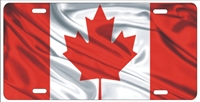 Canadian flag personalized novelty front license plate Decorative Car Tag
