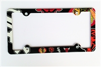 Chicago sport teams License Plate Frame Decorative License Plate Holder
