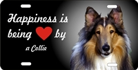Collie personalized novelty license plate Decorative vanity car tag