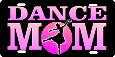 Dance mom custom car tag