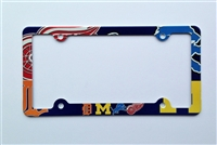 Detroit sport teams License Plate Frame Decorative License Plate Holder