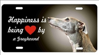 Greyhound personalized novelty license plate decorative vanity front car tag
