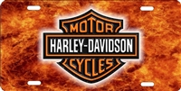 Harley davidson Custom License Plates, Personalized License Plates, Decorative License Plates, Front License Plates, Car Tags, airbrush