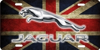Jaguar Custom License Plates, Personalized License Plates, Decorative License Plates, Front License Plates, Car Tags, airbrush