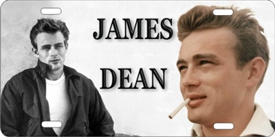 James Dean custom car tag