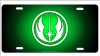 Jedi Order insignia The guardians of Peace in the Galaxy novelty license plate