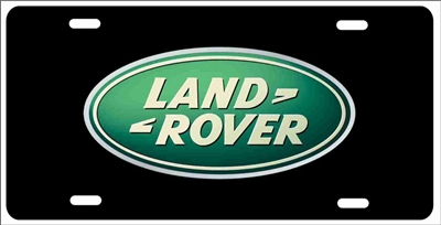 Land Rover Custom License Plates, Personalized License Plates, Decorative License Plates, Front License Plates, Car Tags, airbrush