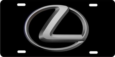 Lexus Custom License Plates, Personalized License Plates, Decorative License Plates, Front License Plates, Car Tags, airbrush