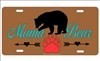Mama Bear custom car tag personalized license plate