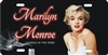Marilyn Monroe Candle in the wind custom car tag Custom License Plates, Personalized License Plates, Decorative License Plates, Front License Plates, Car Tags, airbrush