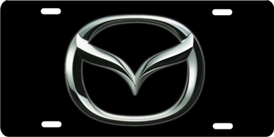 Mazda logo Custom License Plates, Personalized License Plates, Decorative License Plates, Front License Plates, Car Tags, airbrush