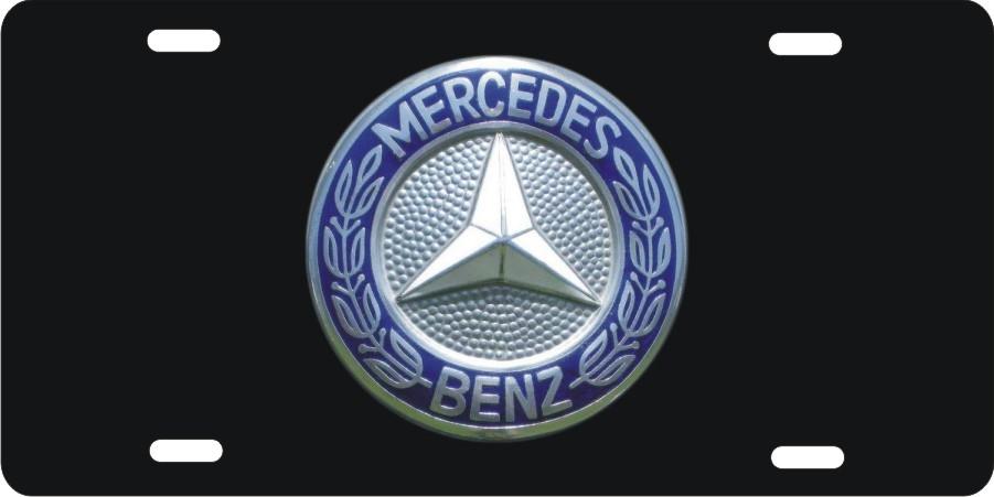 mercedes benz button logo custom license plates personalized license plates decorative license plates - Mercedes Benz Logo Transparent Background