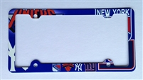 New york sport teams License Plate Frame Decorative License Plate Holder