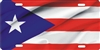 Puerto Rico flag custom car tag Custom License Plates, Personalized License Plates, Decorative License Plates, Front License Plates, Car Tags, airbrush