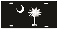 South Carolina flag Custom License Plates, Personalized License Plates, Decorative License Plates, Front License Plates, Car Tags, airbrush