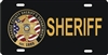 Orange County Sheriff Dept. custom car tag Custom License Plates, Personalized License Plates, Decorative License Plates, Front License Plates, Car Tags, airbrush