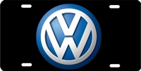volkswagen on black background custom car tag Custom License Plates, Personalized License Plates, Decorative License Plates, Front License Plates, Car Tags, airbrush