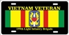 Vietnam veteran 199th Light Infantry Brigade personalized novelty Front license plate Decorative Aluminum Sign car tag Custom License Plates, Personalized License Plates, Decorative License Plates, Front License Plates, Car Tags, airbrush