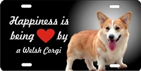 Welsh Corgi novelty license plate Custom License Plates, Personalized License Plates, Decorative License Plates, Front License Plates, Car Tags, airbrush dogs