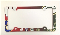 Wisconsin sports teams sport teams License Plate Frame Decorative License Plate Holder