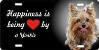 Yorkshire terrier Yorkie novelty license plate Custom License Plates, Personalized License Plates, Decorative License Plates, Front License Plates, Car Tags, airbrush dogs