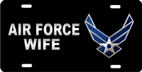 us air force wife Custom License Plates, Personalized License Plates, Decorative License Plates, Front License Plates, Car Tags, airbrush