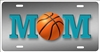 Basketball Mom personalized novelty front license plate decorative car tag