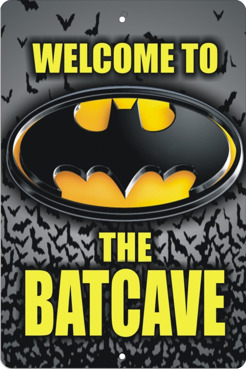 batcave sign personalized bat cave sign custom made